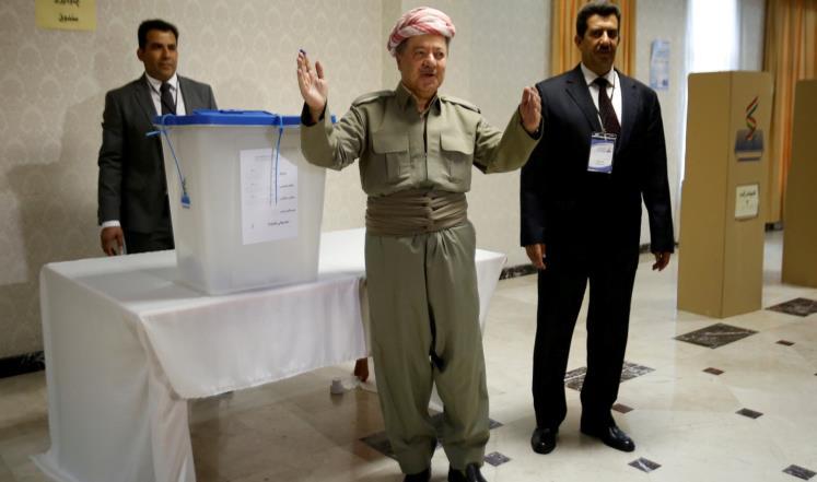 تواصل الاقتراع في استفتاء انفصال كردستان العراق