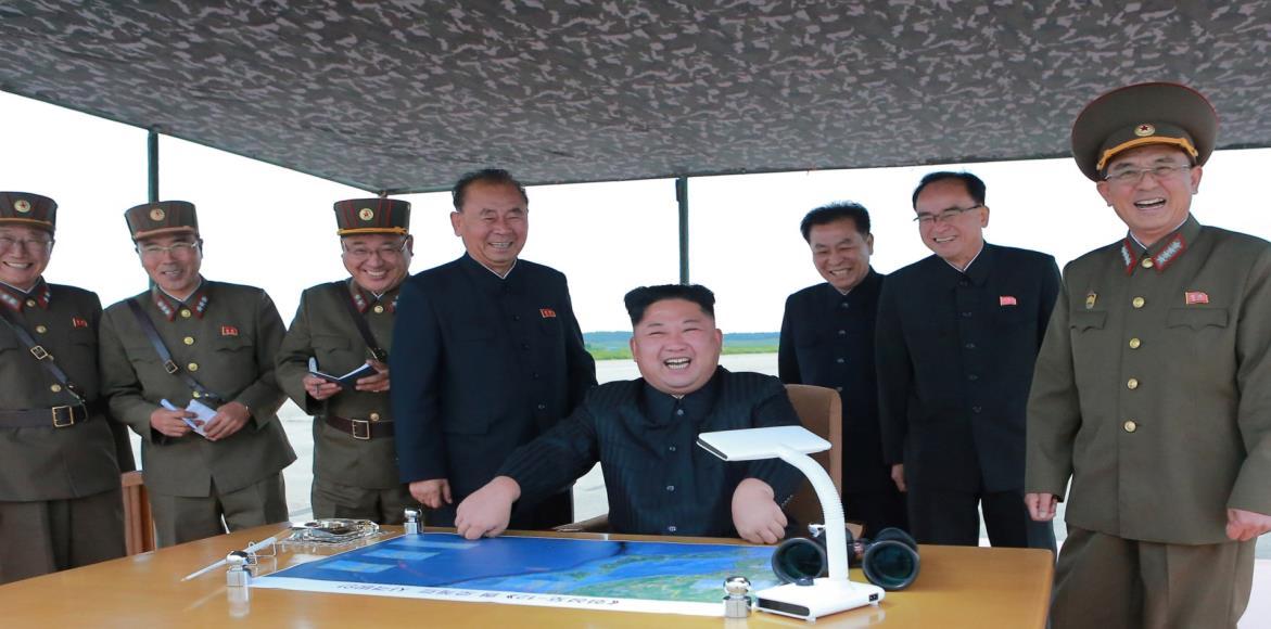 كوريا الشمالية وقيادة الولايات المتحدة
