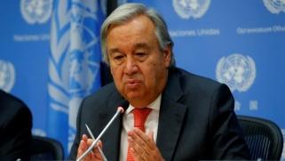 غوتيريش يدعو لحل الأزمة الخليجية بالمفاوضات