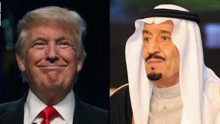 العاهل السعودي يرحب في اتصال مع ترامب بالاستراتيجية الأمريكية الحازمة ضد إيران