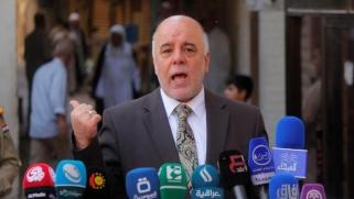 العبادي يشترط إلغاء نتائج الاستفتاء للحوار مع أربيل