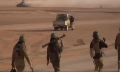 القوات العراقية تتقدم باتجاه القائم تمهيدا لاقتحامها