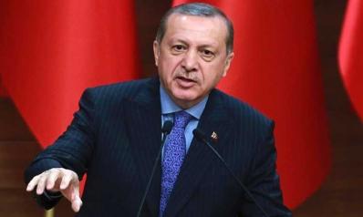 أردوغان يصل طهران لبدء زيارة رسمية