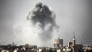 قوات النظام تشن هجوما واسعا بغوطة دمشق