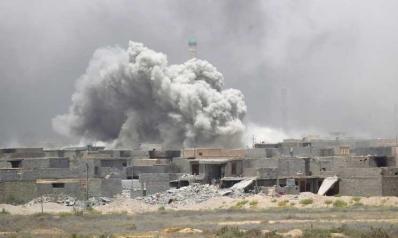 هجوم صاروخي على مقر أمني شرقي الموصل