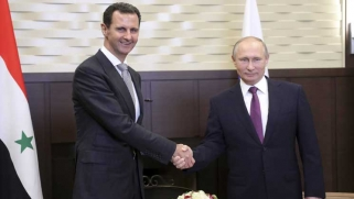 الكرملين: بوتين التقى الأسد في سوتشي في زيارة استغرقت أربع ساعات