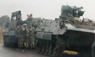 الجيش يعلن استيلاءه على السلطة في زيمبابوي