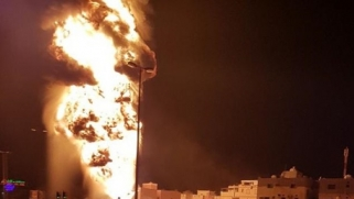 انفجار خط أنبوب النفط الرئيسي في البحرين يُنظر إليه على أنه تحذير من إيران