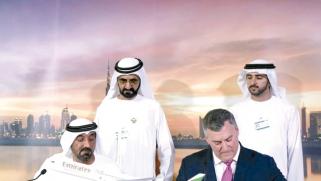 صناعة الطيران العالمية تجتمع في معرض دبي للطيران