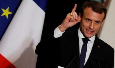 ماكرون: فرنسا تنتظر من الرياض وقف تمويل مجموعات متطرفة