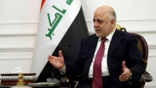"""العبادي يعلن """"انتهاء الحرب"""" ضد تنظيم الدولة الإسلامية في العراق"""