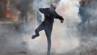 157 مصابا باليوم الخامس للغضب الفلسطيني