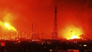 فنزويلا: إصابة شخصين في انفجار ضخم بمصفاة نفط