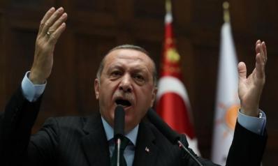 أردوغان: ترمب ألقى المنطقة في النار