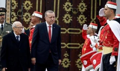 أردوغان والسبسي يبحثان كبريات القضايا المشتركة