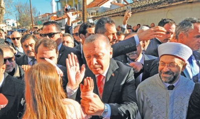 أردوغان يعتبر مسلمي اليونان «جسراً» مع تركيا
