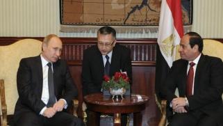بوتين في القاهرة لبحث العلاقات الثنائية والقدس
