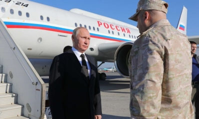 بوتين بين حميميم والقاهرة
