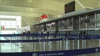 تمديد تعليق الرحلات الجوية الدولية بمطاري كردستان