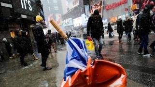 عواصف ثلجية وصقيع تهدد الاحتفالات بكندا وأميركا