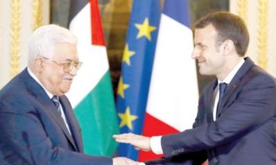 ماكرون: سنلعب دور «المسهّل» للتفاوض ولا اعتراف بالدولة الفلسطينية اليوم