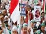 مظاهرة حاشدة بإندونيسيا رفضا لقرار ترمب