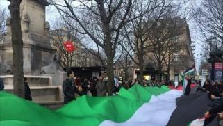 تواصل المظاهرات في فرنسا نصرة للقدس