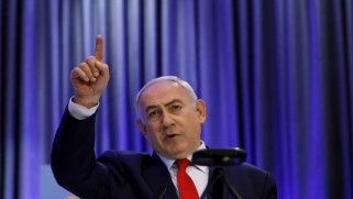 """نتنياهو ينتقد """"النفاق"""" الأوروبي بعد قرار ترامب بشأن القدس"""