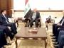 العبادي ونيجيرفان بارزاني يتفقان على حل الخلافات وفق الدستور