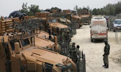 تركيا تتوعد بسحق القوات الكردية شمال سوريا