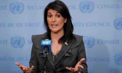 هيلي: تمديد الاتفاق النووي لا يعني التسامح مع إيران