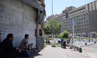 إصابة إيراني حاول اقتحام مكتب روحاني