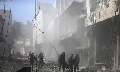 الغوطة مذبحة روسية بامتياز