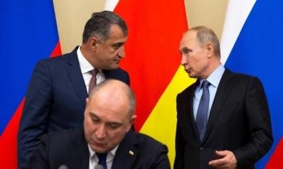روسيا تضم قوات أوسيتيا الجنوبية المنفصلة عن جورجيا