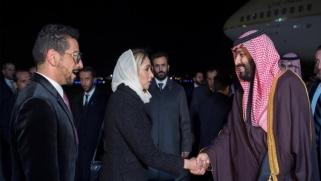 ابن سلمان بواشنطن لمباحثات تشمل الأزمة الخليجية