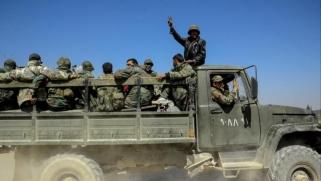 قوات النظام وحلفاؤه يقسمون الغوطة