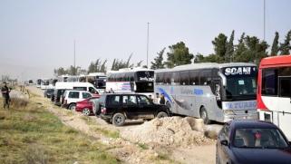 تهجير من جنوب الغوطة والأنظار على دوما
