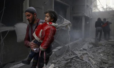 النظام السوري يهاجم الغوطة مجددا بالكلور