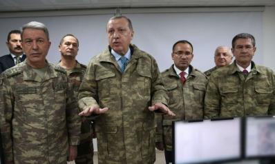 الخلاف بين أردوغان والجيش يعطّل الحسم في عفرين