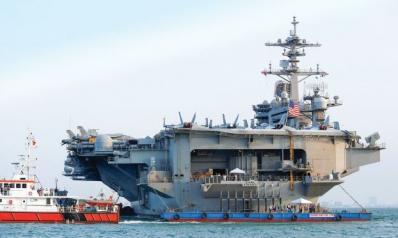 زيارة تاريخية لحاملة طائرات أميركية لفيتنام المرتابة من نفوذ الصين