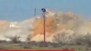 الجيش المصري يقصف سيناء بقنابل عنقودية أميركية