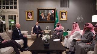 """ولي العهد السعودي يضغط لتعديل """"صفقة القرن"""""""