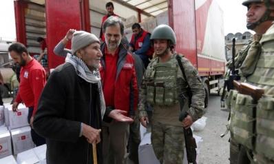 """واشنطن قلقة والنظام يندد بـ""""احتلال"""" تركيا لعفرين"""