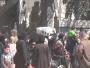 نزوح مستمر على وقع حمّام دم الغوطة الشرقية