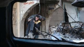 نظام الأسد يقسّم الغوطة إلى نصفين
