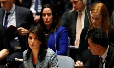 هيلي: فشل الهدنة بسوريا عار على مجلس الأمن