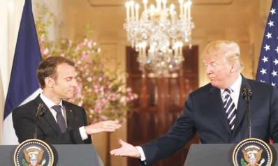 ترامب: الاتفاق النووي مع إيران «سخيف وفظيع» وبعض دول الشرق الأوسط لن تصمد أسبوعا دون حمايتنا