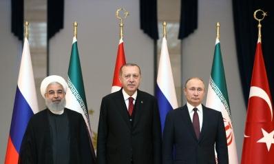 أردوغان وبوتين وروحاني: قمة لا تحرك ساكناً في سورية