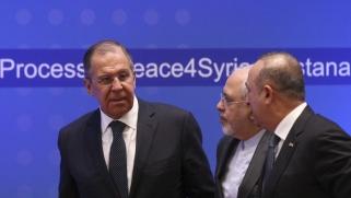 مباحثات روسية إيرانية تركية حول تسوية سياسية في سوريا