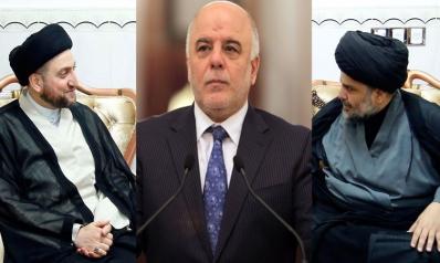 ائتلافات العبادي والصدر والعامري تتصدر الانتخابات العراقية